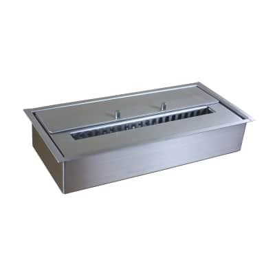 Biobruciatore per pavimento 2.5 L grigio / argento