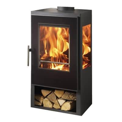 Cucina a legna Condor 7.4 kW nero