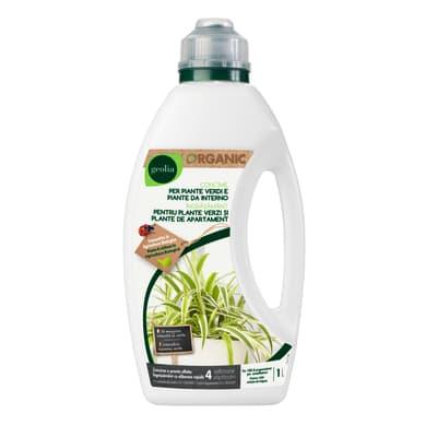 Concime per piante verdi liquido GEOLIA Organic 1 L