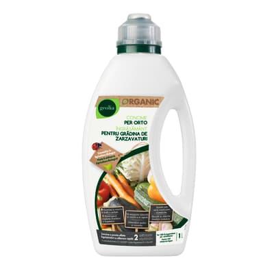 Concime per orto liquido GEOLIA Organic 1 L