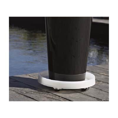 Supporto di vaso in plastica  L 30 x L 30 cm
