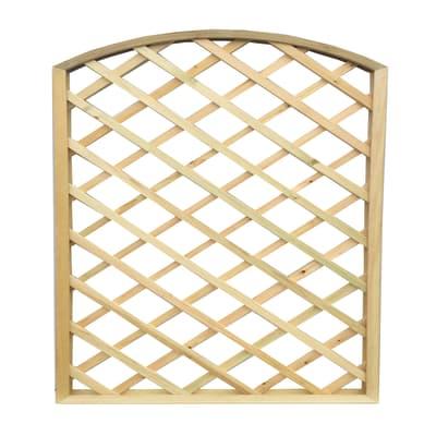 Pannello reticolato in legno Diago 180 x 180 cm