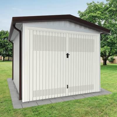 Garage in acciaio al carbonio Newport SAPIL 14.25 m², Sp 40 mm