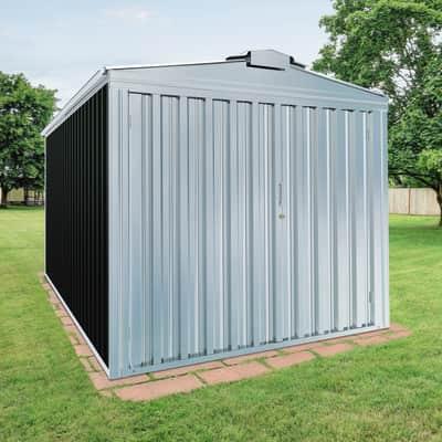 Garage in acciaio al carbonio Orlando 14.97 m², Sp 0.6 mm