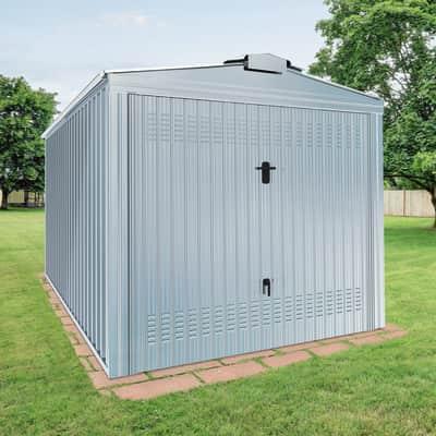 Garage in acciaio al carbonio Boston 14.67 m², Sp 0.4 mm