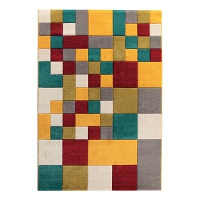 Tappeto Allegra multicolor 160x230 cm