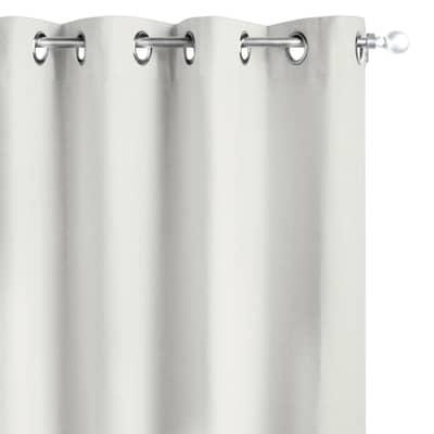 Tenda INSPIRE 100% lino crema occhielli 140x280 cm