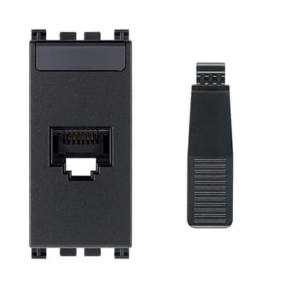 Connettore rj45 VIMAR Arké grigio