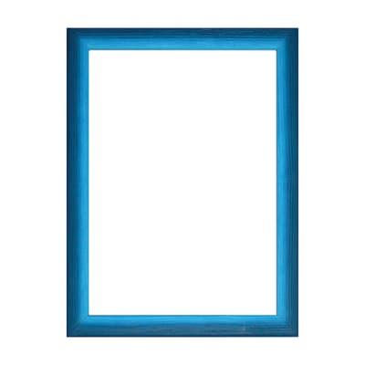 Cornice INSPIRE Bicolor azzurro<multisep/>blu per foto da 30x45 cm