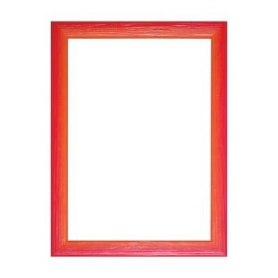 Cornice INSPIRE Bicolor rosso / arancione per foto da 20x25 cm