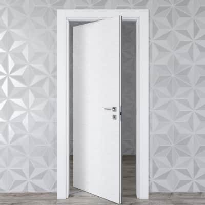Porta rototraslante Hunk Cemento calce L 80 x H 210 cm sinistra