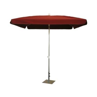 Ombrellone NATERIAL Ita 003 L 2.15 x P 2.15 m color rosso