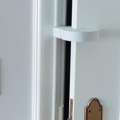 Sicurezza bambino per porta Bianco H 23.7 cm