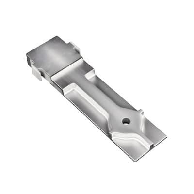 Piastra di montaggio in alluminio Premium P 2 x H 12 cm