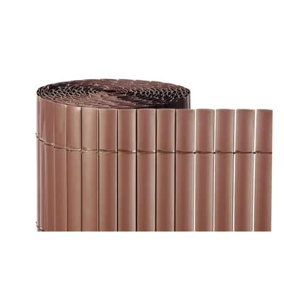 Cannicci in pvc pvc NATERIAL cioccolato L 5 x H 1.5 m
