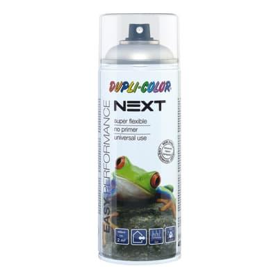 Spray DUPLI COLOR NEXT alluminio chiaro lucido 0.4 L