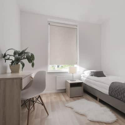 Tenda a rullo Ancona oscurante beige 150x250 cm