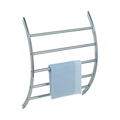 Porta salviette fisso a muro 1 barra Glamour cromo cromato L 56 cm