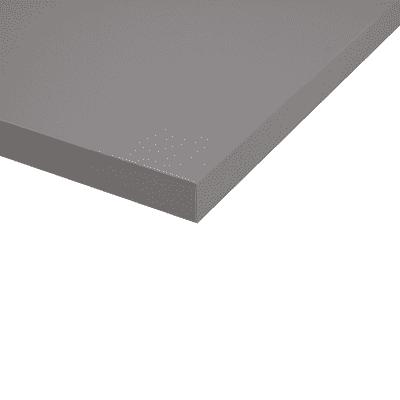 Piano cucina su misura in fenix tm Londra grigio , spessore 2 cm