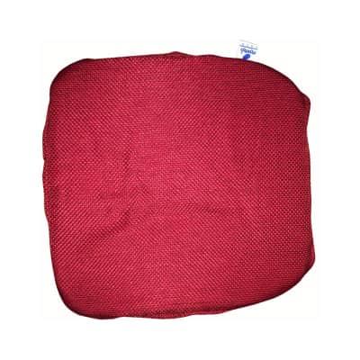 Cuscino per sedia Con Elastico Antonella rosso 40x40 cm
