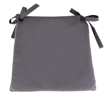 Cuscino per sedia Lisa grigio 40x40 cm