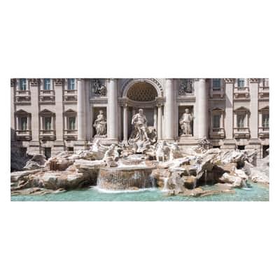 Pannello decorativo Roma Trevi 210x100 cm