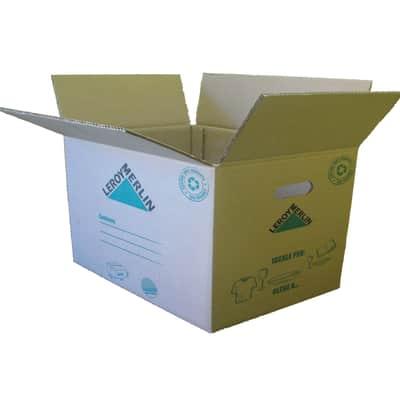 Scatola da imballaggio 2 onde L 60 x H 40 x P 40 cm