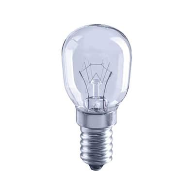 Lampadina Alogena, E14, Bulbo, Trasparente, Luce calda, 15W=100LM (equiv 35 W), 5° , LEXMAN