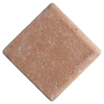 Listello Marmo marrone L 13 x H 13 cm