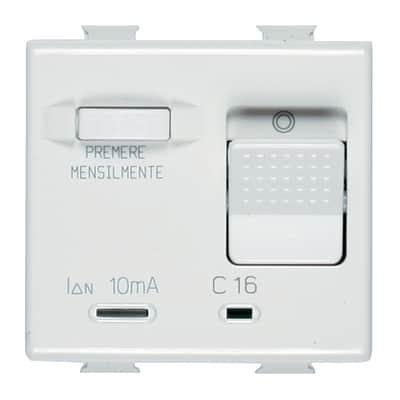 Interruttore differenziale BTICINO Matix 16 A bianco