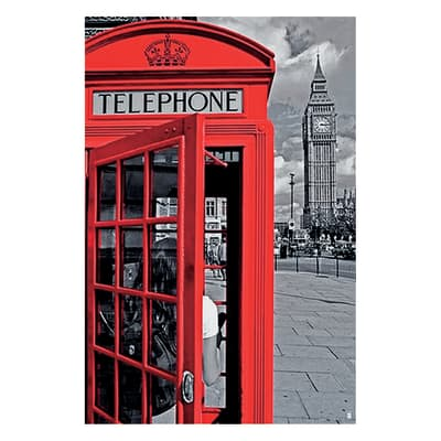 Poster Cabina Londra II 61x91.5 cm
