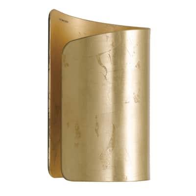 Applique glamour Imagine oro, in alluminio, 14.2 cm,
