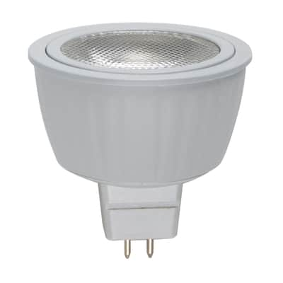Lampadina LED, GU5.3, Faretto, Trasparente, Luce naturale, 5.5W=345LM (equiv 35 W), 36° , LEXMAN