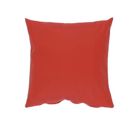 Cuscino grande Silvia rosso 60x60 cm