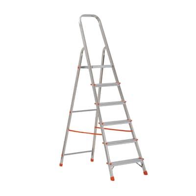 Scaletta GIERRE Scalamia in alluminio 6 gradini