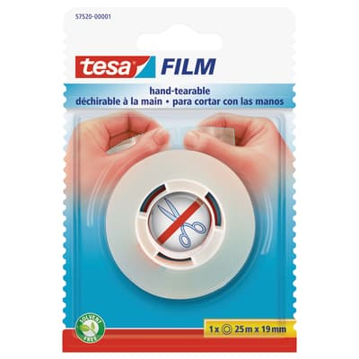 Nastro adesivo TESA tesafilm 140 mm x 0.019 m trasparente