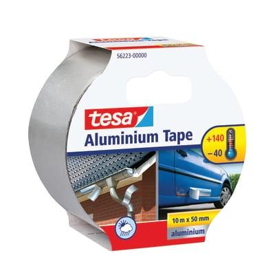 Nastro adesivo TESA Alluminio 92.0 mm x 0.05 m grigio