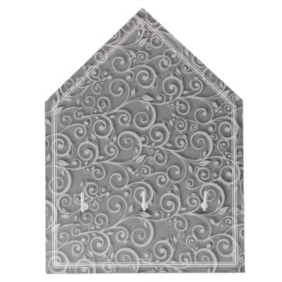 Bacheca Arabesque 3 ganci multicolore 220 x 150 mm x 3 cm