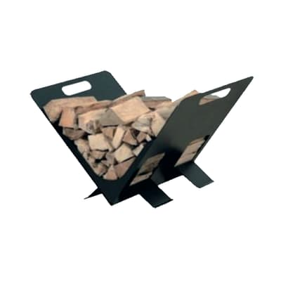 Porta legna da ardere Leggio L 38x H26x P 29 cm
