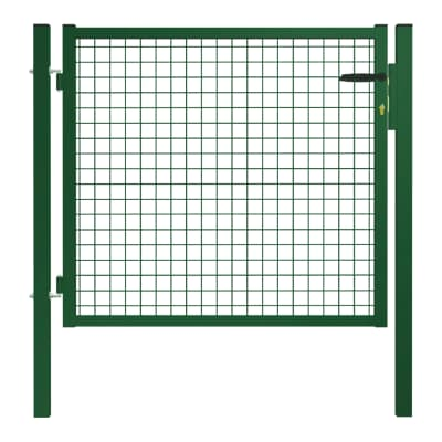 Cancello / portello Garden in acciaio galvanizzato plastificato L 1 x H 1.25 m