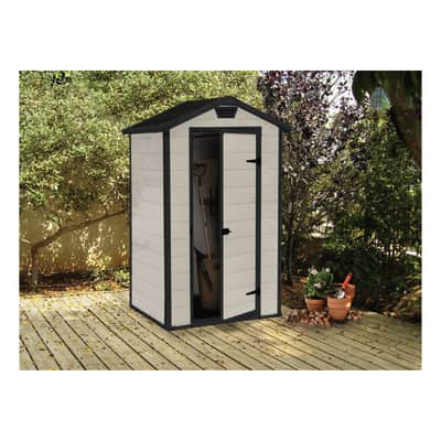Casetta da giardino in polipropilene Lineus 4x3 1.2 m² spessore 16 mm