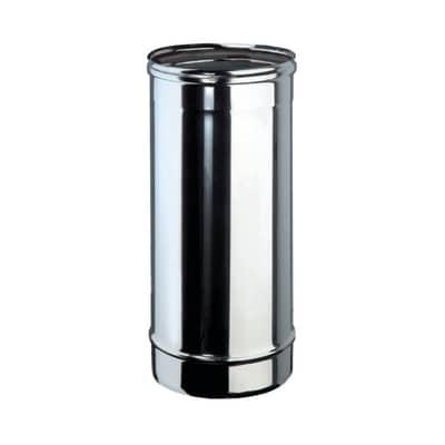 Tubo Tubo m.0,5 inox aisi 316L Dn 200 mm in inox 316l (elevata resistenza in condizioni climatiche estreme) L 50 cm x Ø 200 mm