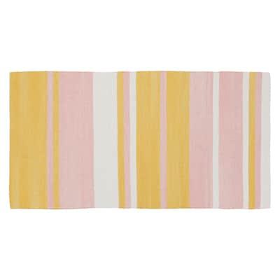 Tappeto Cucina Antibes rosa 140x55 cm