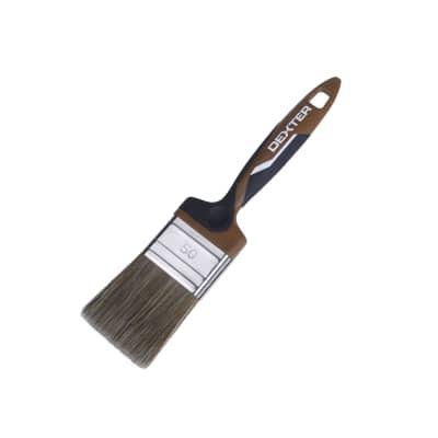 Pennello Piatto per legno 50 mm per Olio, vernice, impregnante legno DEXTER