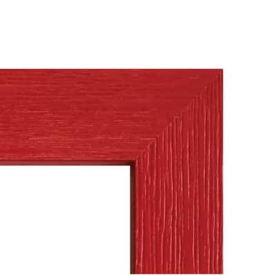 Cornice Riviera rosso per foto da 20X25 cm