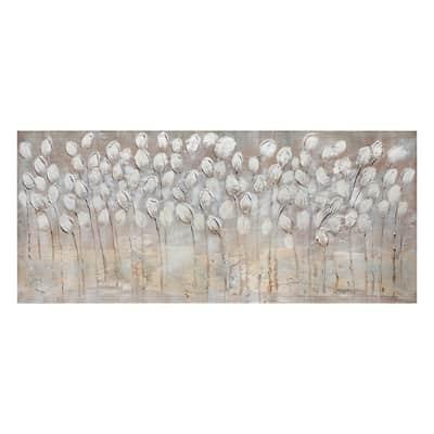 Immagine Tulipani Bianchi 150x65 cm