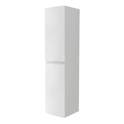 Colonna Vague 2 ante L 40 x P 38 x H 170 cm bianco lucido