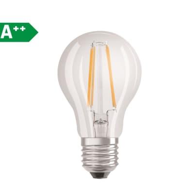 Lampadina Filamento LED E27 pera bianco caldo 7W = 806LM (equiv 60W) 300° OSRAM