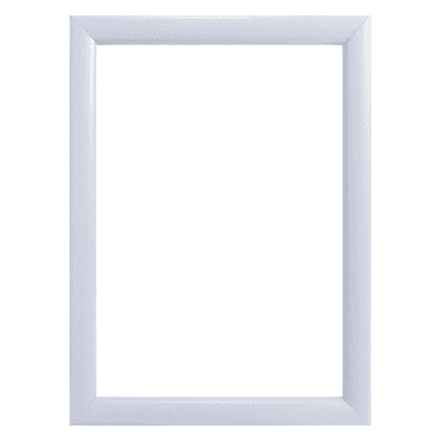 Cornice INSPIRE Bomber bianco per foto da 24x30 cm