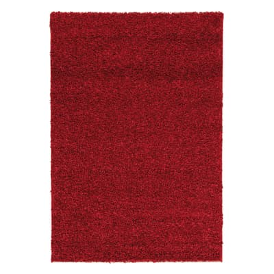 Tappeto Curly tender rosso 220x150 cm